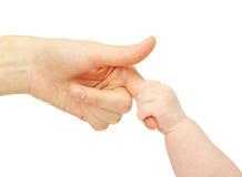 dziecko ręka Obrazy Royalty Free