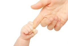 dziecko ręka Fotografia Royalty Free