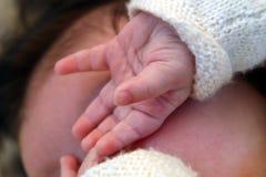 dziecko ręce Zdjęcie Stock