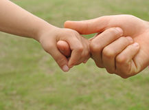 dziecko ręka s Fotografia Royalty Free