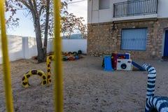 Dziecko rozrywki przestrzeń zdjęcie royalty free