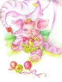 dziecko słoń Fotografia Stock