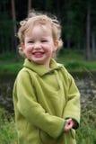 dziecko się śmiać Zdjęcia Stock