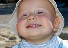 dziecko się uśmiecha Obrazy Stock