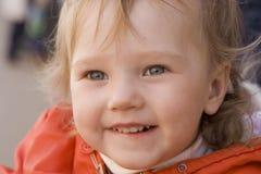 dziecko się uśmiecha Zdjęcie Stock