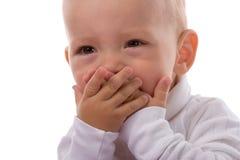 dziecko się uśmiecha Fotografia Stock