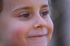 dziecko się uśmiecha Obrazy Royalty Free