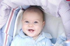 dziecko się uśmiecha Obraz Royalty Free
