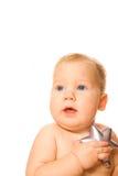 dziecko silver star Zdjęcia Royalty Free