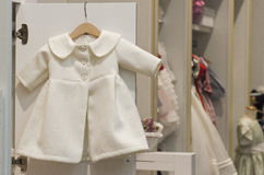 Dziecko sklep odzieżowy Fotografia Royalty Free