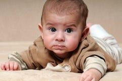 dziecko smutny Obraz Stock