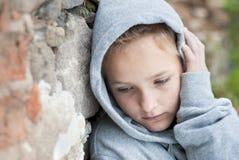 dziecko smutny Obrazy Royalty Free