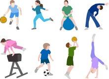 Dziecko sport Obrazy Royalty Free