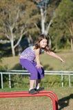 dziecko sprawność fizyczna Obraz Royalty Free