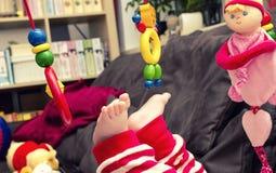 Dziecko stopa Zdjęcia Stock