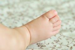 dziecko stopa s Obrazy Stock