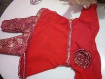 Dziecko sukienki projekt Zdjęcia Royalty Free