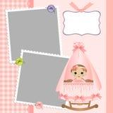 dziecko szablon karciany śliczny s Zdjęcie Stock