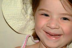 Dziecko Szczęśliwa dziewczyna Obrazy Royalty Free
