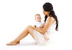 dziecko szczęśliwa mama Obrazy Stock