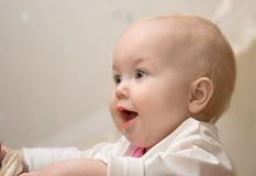 dziecko szczęśliwy Obrazy Stock