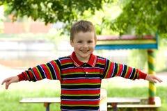 dziecko szczęśliwy Obrazy Royalty Free