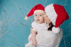 dziecko szczęśliwy jej matka fotografia stock