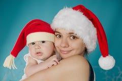 dziecko szczęśliwy jej matka Obrazy Stock