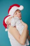 dziecko szczęśliwy jej matka zdjęcie stock