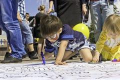 Dziecko sztuka Obrazy Stock