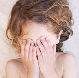 dziecko tantruming Zdjęcie Royalty Free