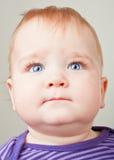 dziecko target4556_0_ patrzeć Obraz Stock