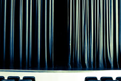 Dziecko teatr zdjęcia stock