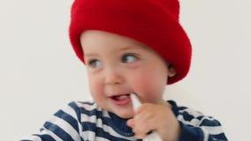 dziecko termometr zdjęcie wideo