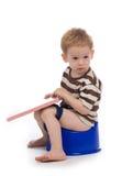 dziecko toalety Fotografia Stock