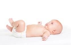 Dziecko trzy miesiąca obraz royalty free