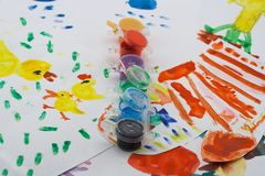 dziecko twórczość s Obrazy Royalty Free