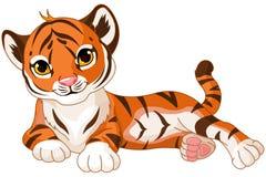 Dziecko tygrys royalty ilustracja