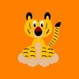 Dziecko tygrys Obrazy Royalty Free