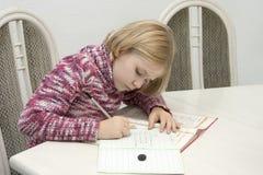 dziecko uczy się Zdjęcie Stock
