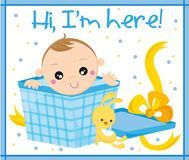 dziecko urodzony Zdjęcie Royalty Free