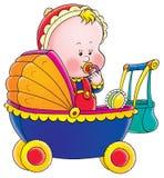 dziecko wózek Zdjęcia Royalty Free