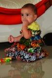 Dziecko w afrykanin sukni Obrazy Stock