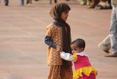 Dziecko w Delhi obrazy royalty free