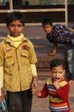 Dziecko w Delhi Zdjęcia Royalty Free