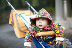 Dziecko w frachcie Fotografia Royalty Free