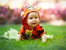 Dziecko w galanteryjnej sukni Obrazy Stock