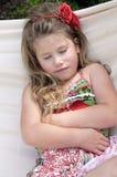 dziecko w hamaku Zdjęcia Stock