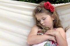 dziecko w hamaku Zdjęcia Royalty Free