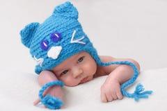 Dziecko w śmiesznym kapeluszu Zdjęcie Royalty Free